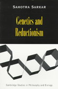 Genetics and Reductionism 0 9780521637138 0521637139