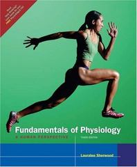 Fundamentals of Physiology 3rd edition 9780534466978 0534466974