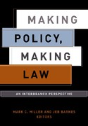 Making Policy, Making Law 0 9781589010253 1589010256