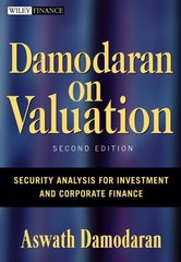 Damodaran on Valuation 2nd edition 9780471751212 0471751219