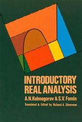 Introductory Real Analysis 1st Edition 9780486612263 0486612260