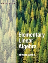 Elementary Linear Algebra 9th edition 9780471669609 0471669601
