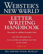 Webster's New World Letter Writing Handbook 1st edition 9780764525247 0764525247