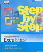 Microsoft Office Excel 2003 Step by Step 1st edition 9780735615182 0735615187