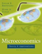 Microeconomics: Theory and Applications 9th Edition 9780471679431 0471679437