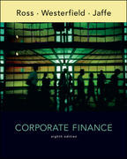 Corporate Finance 8th edition 9780073337180 0073337188