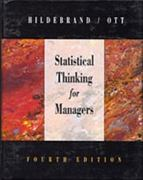 Statistical Thinking for Managers 4th Edition 9780534204068 0534204066