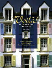 Voila!: An Introduction to French (with Audio CD) 5th edition 9781413005219 1413005217