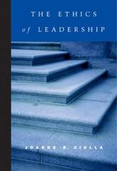 The Ethics of Leadership 1st Edition 9780155063174 0155063170
