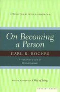 On Becoming a Person 2nd Edition 9780395755310 039575531X