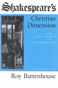 Shakespeare's Christian Dimension 0 9780253311221 0253311225