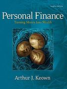 Personal Finance 4th edition 9780132213899 0132213893