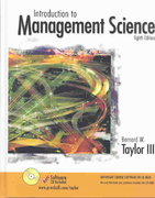 Introduction to Management Science 8th Edition 9780131424395 0131424394
