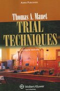 Trial Techniques 7th edition 9780735555594 0735555591