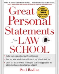 Great Personal Statements for Law School 1st edition 9780071453004 0071453008