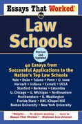 Essays That Worked for Law Schools (Revised) 0 9780345450425 0345450426