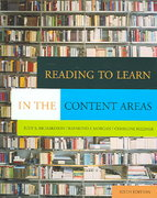 Reading to Learn in the Content Areas (with CD-ROM and InfoTrac ) 6th edition 9780534553388 0534553389