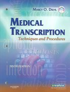 Medical Transcription: Techniques and Procedures 6th edition 9781416023470 141602347X