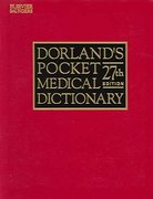 Dorland's Pocket Medical Dictionary with CD-ROM 27th edition 9781416001010 1416001018