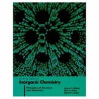 Inorganic Chemistry 4th Edition 9780060429959 006042995X