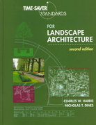 Time-Saver Standards for Landscape Architecture 2nd edition 9780070170278 0070170274