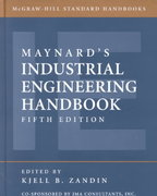 Maynard's Industrial Engineering Handbook 5th edition 9780070411029 0070411026