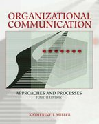 Organizational Communication 4th Edition 9780534617882 0534617883