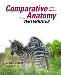 Comparative Anatomy of the Vertebrates 9th edition 9780073038698 0073038695