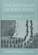 The Sociology of Education 5th edition 9780130259745 0130259748