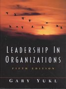 Leadership in Organizations 5th edition 9780130323125 0130323128