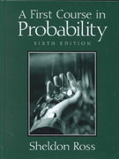 A First Course in Probability 6th edition 9780130338518 0130338516