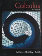 Calculus 3rd edition 9780130918710 0130918717