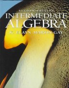 Intermediate Algebra 2nd edition 9780132424622 0132424622