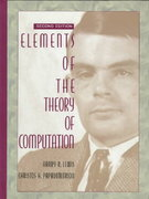 Elements of the Theory of Computation 2nd Edition 9780132624787 0132624788