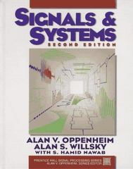 Signals and Systems 2nd edition 9780138147570 0138147574