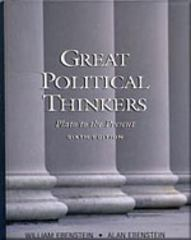 Great Political Thinkers 6th edition 9780155078895 0155078895