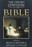 The Oxford Companion to the Bible 0 9780195046458 0195046455