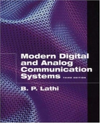 Modern Digital and Analog Communication Systems (Oxford Series in Electrical and Computer Engineering) 3rd edition 9780195110098 0195110099