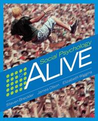 Social Psychology Alive 1st edition 9780534578343 0534578349