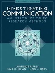Investigating Communication 2nd Edition 9780205198269 0205198260