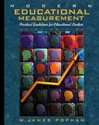 Modern Educational Measurement 3rd edition 9780205287703 0205287700