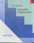 The Theory of Industrial Organization 1st Edition 9780262200714 0262200716