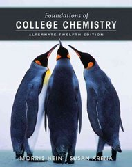 Foundations of College Chemistry 12th edition 9780471779919 0471779911