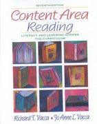 Content Area Reading 7th Edition 9780321088109 0321088107