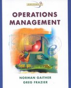 Operations Management with POM Software CD-ROM 9th edition 9780324066852 0324066856