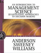 An Introduction to Management Science 10th edition 9780324145632 0324145632