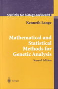 Mathematical and Statistical Methods for Genetic Analysis 2nd edition 9780387953892 0387953892