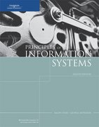 Principles of Information Systems 8th edition 9781423901150 1423901150
