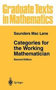 Categories for the Working Mathematician 2nd edition 9780387984032 0387984038