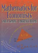 Mathematics for Economists 1st Edition 9780393957334 0393957330